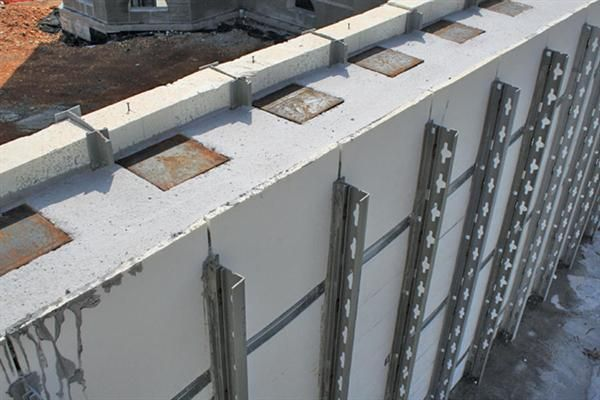 Transform icf a removable form icf wall system very nice for Icf concrete roof