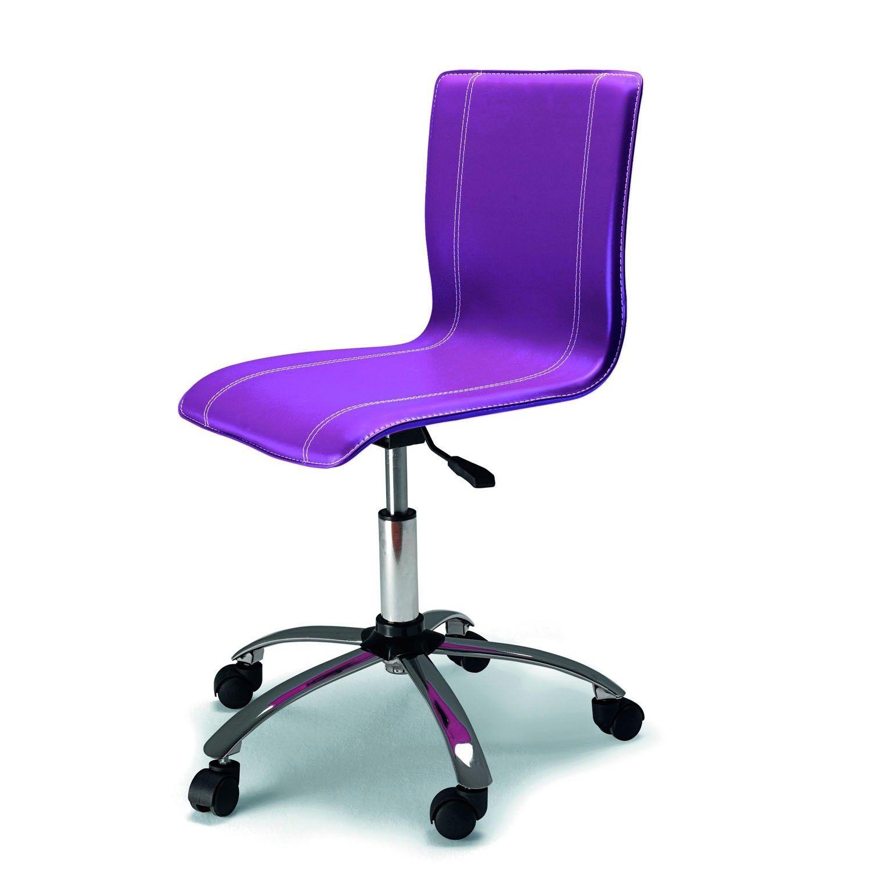 Dissery silla de ordenador anesi silla de ordenador anesi tapizada en ecopiel tambi n perfecta - Sillas ergonomicas para estudiar ...