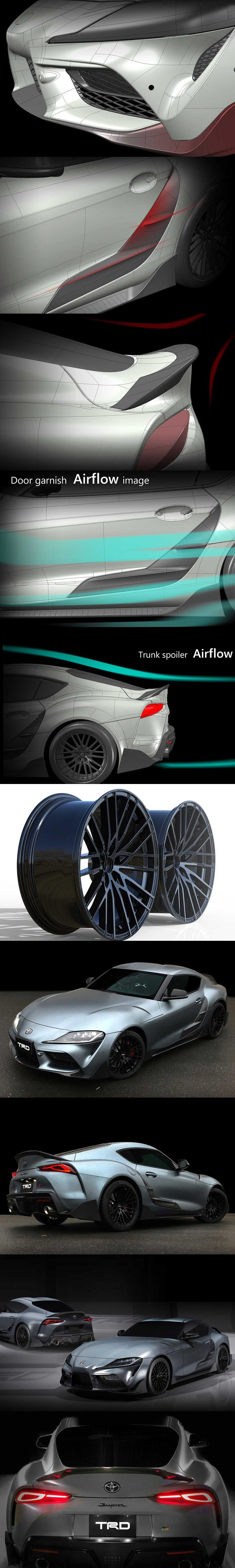 Presenting The Toyota Supra Performance Line Concept TRD