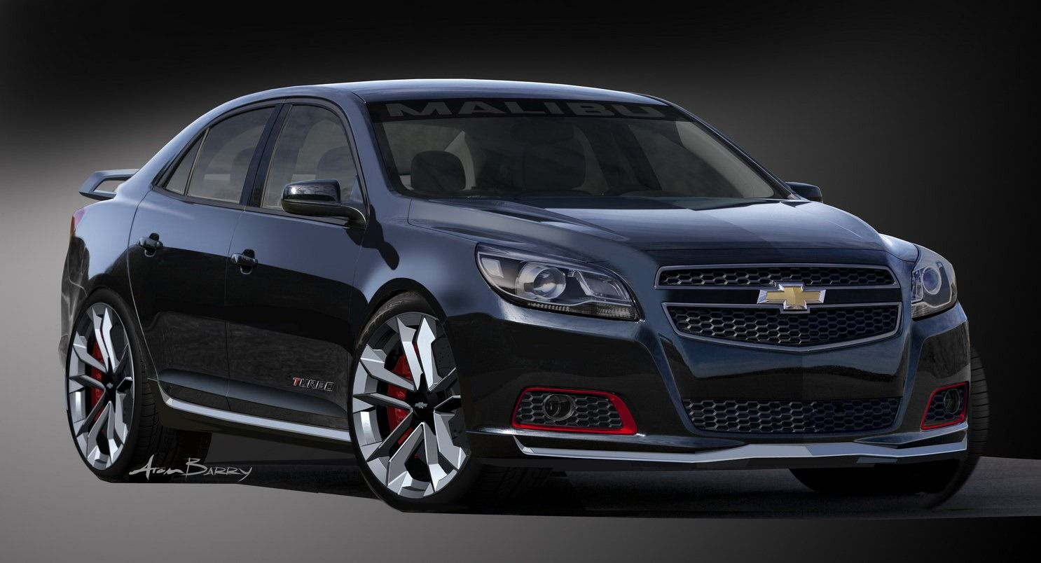 All Chevy chevy cars 2015 : Chevrolet-Malibu-Turbo-Concept-2 - [The sported-up study is named ...