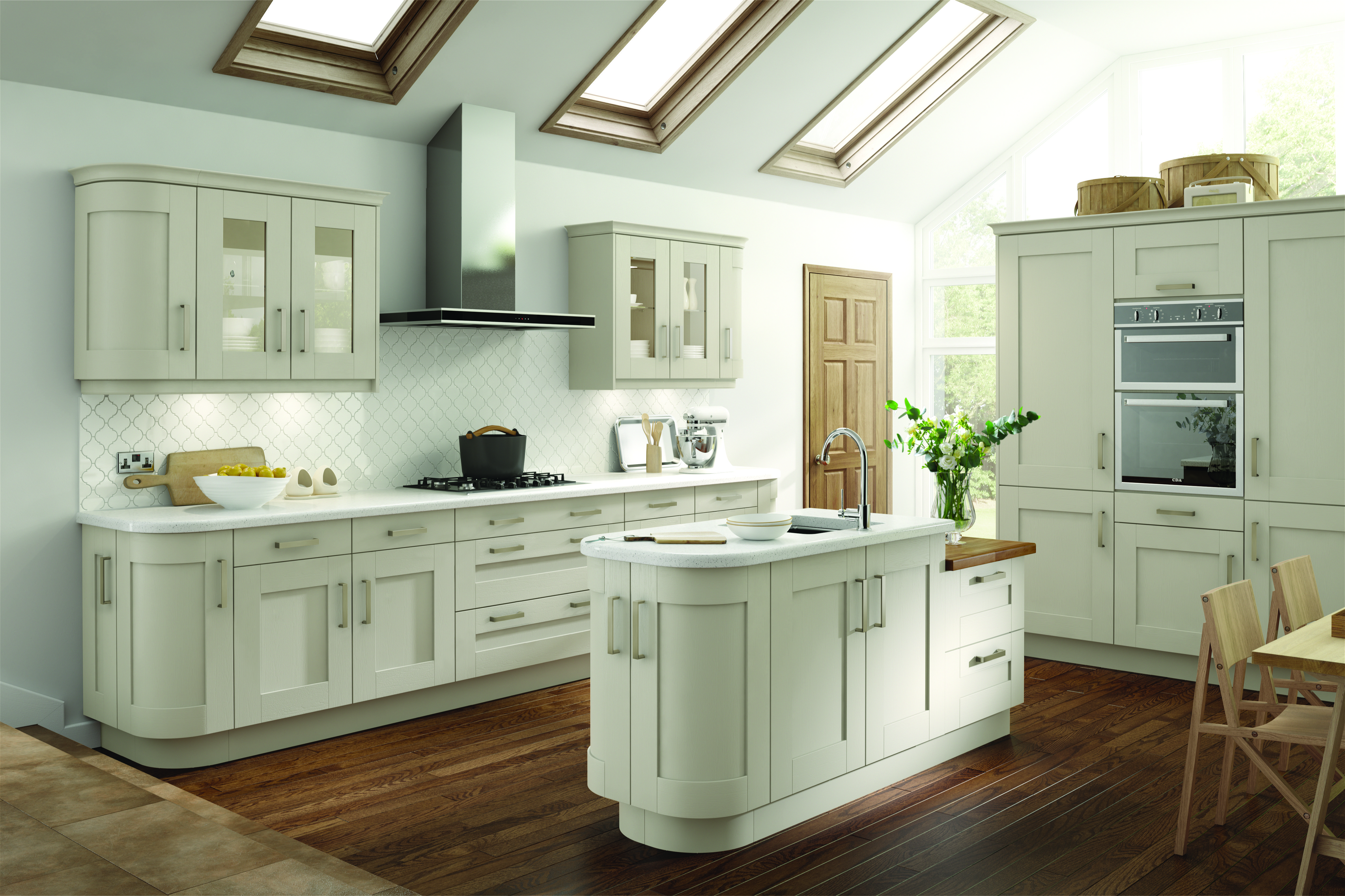 Arlington Ivory painted kitchen (With images) Kitchen design