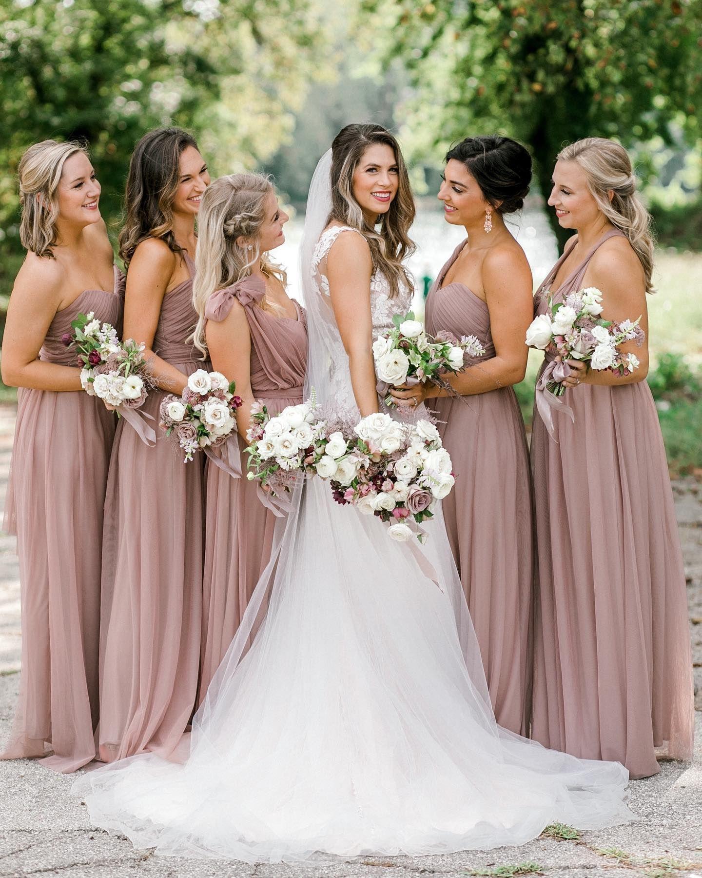 Christina Convertible Dress - Sandy Mauve -   17 dress Bridesmaid tulle ideas