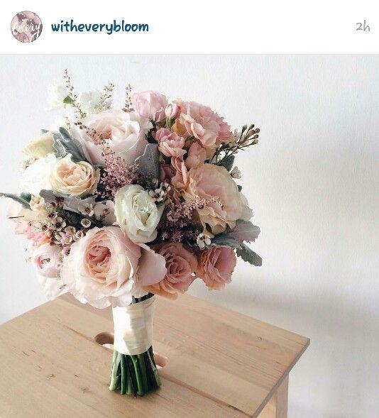 Nice wedding bouquet palate