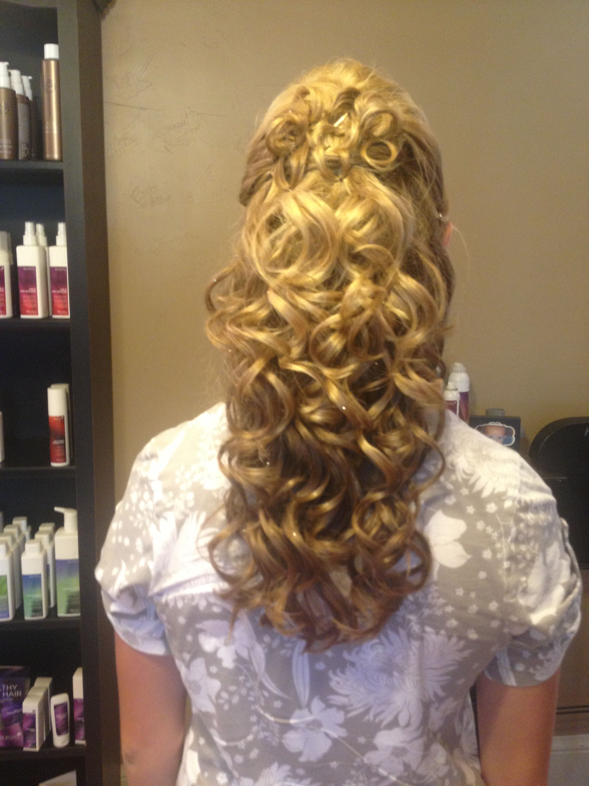 Hair for dance or other formal occasion hair styles that ium too