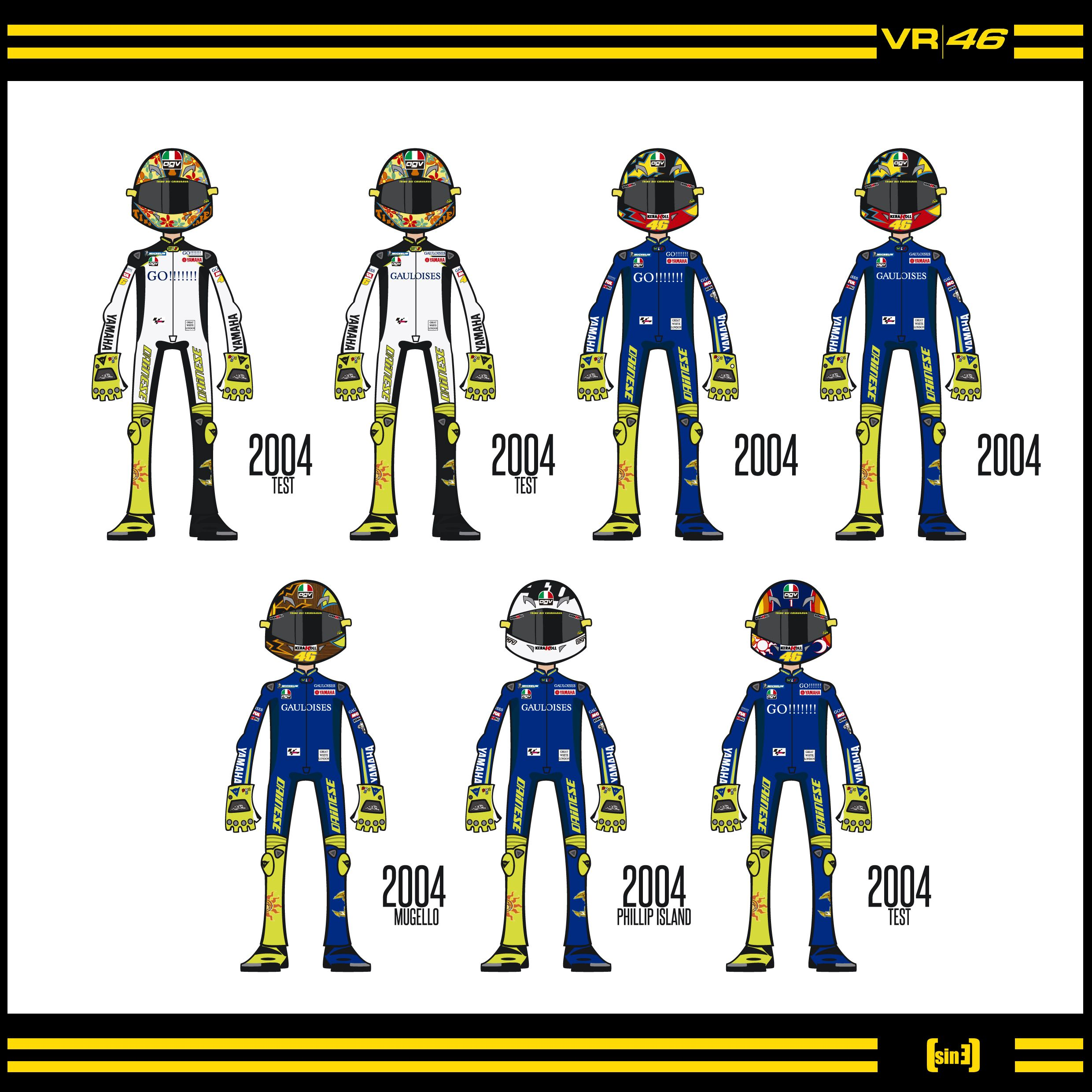 VR46 2004 Bikes And Vectors Pinterest Leather