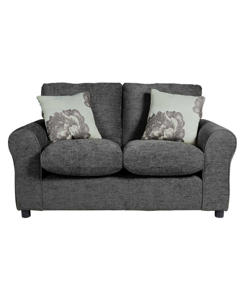 Buy Sofa Online Buy Home Tessa Compact Fabric Sofa Charcoal At Argos Co Uk