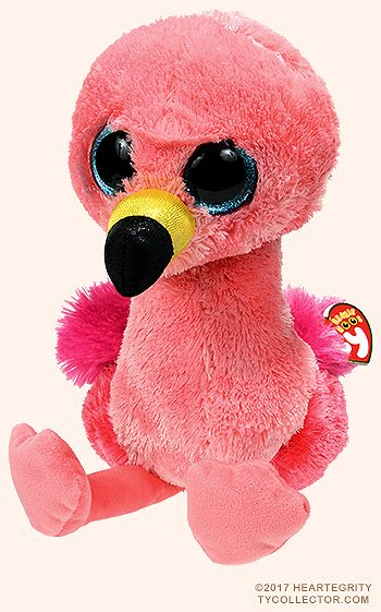 24e1820c674 Gilda (medium) - flamingo - Ty Beanie Boos