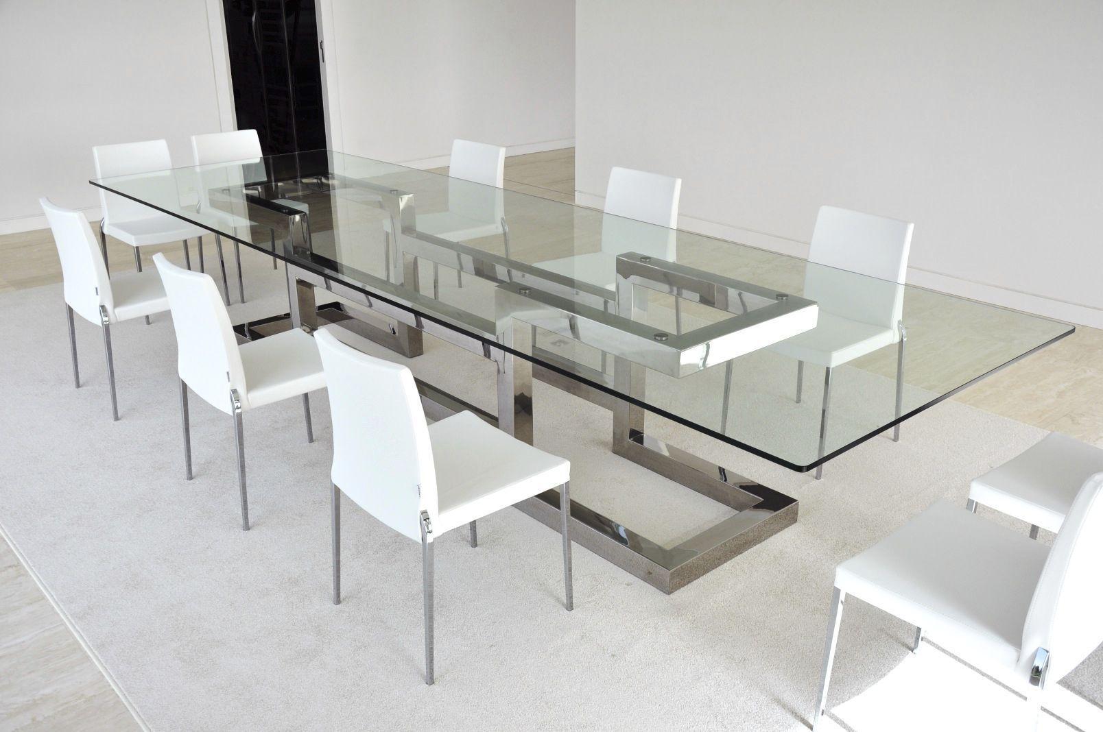 Mesa de comedor moderna de metal de hierro de metal for Mesas modernas para comedor