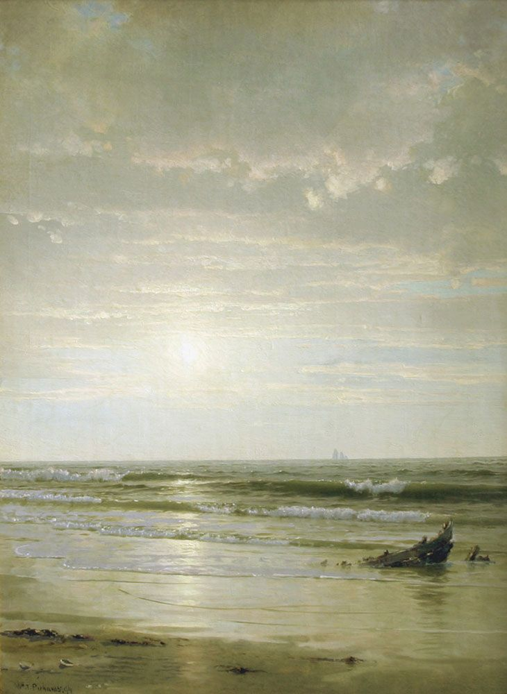 William Trost Richards - Summer Morning