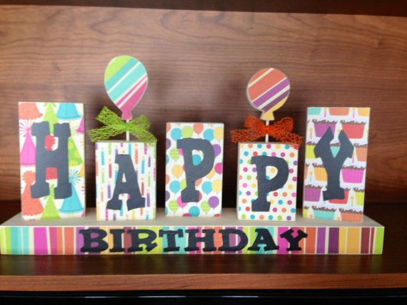 Happy Birthday Wood Sign By Wickedwoodwork On Etsy Wood Signs 2x4 Crafts Crafts