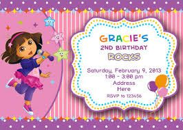 Image result for free dora invitation templates