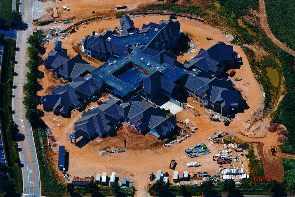 August 2014 construction update