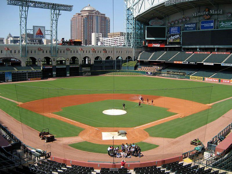 Minute Maid Park Home Of Houston Astros Seating Capacity 40963 Opened 2000 Daily