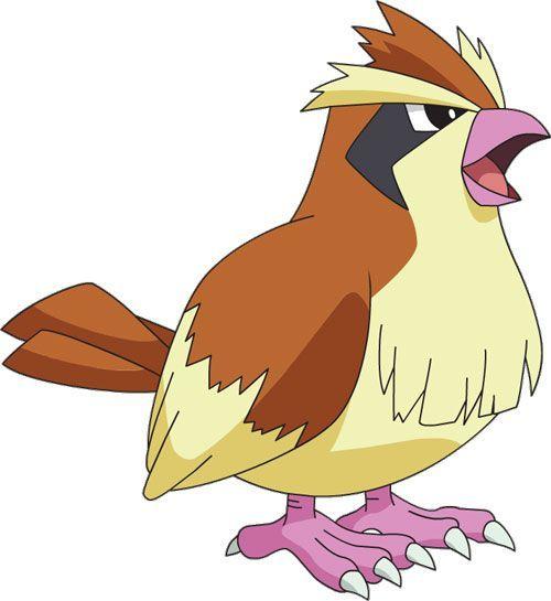 Pidgey 1 de Pokémon Go