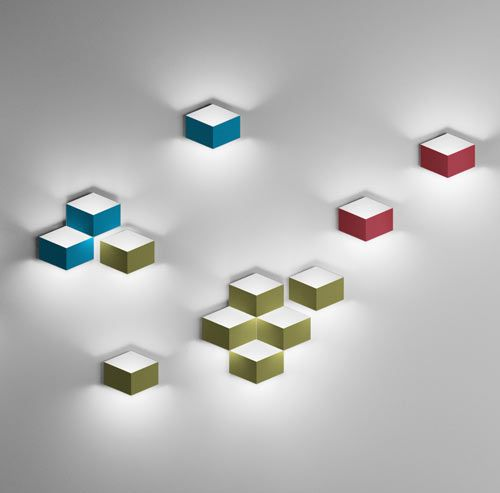 FOLD 3D Cube Sconce By Arik Levy For Vibia. Ceiling LightsWall ...