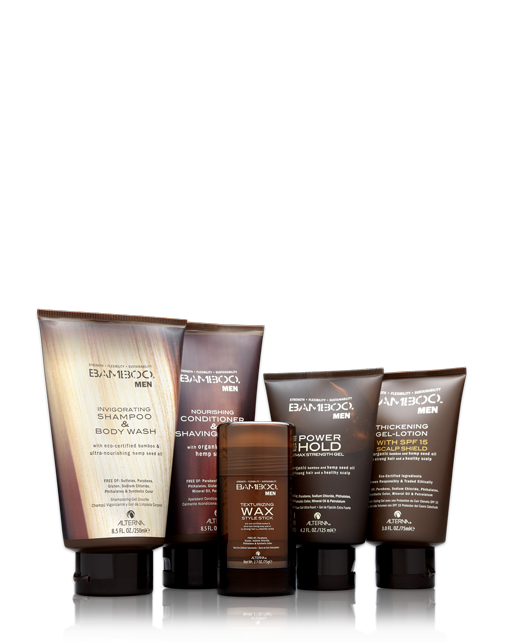 Alterna Bamboo Gents Collection Everything The Classic Well Groomed Man Needs To Maintain His Look Bamboo Hair Products Pure Products Hair Care