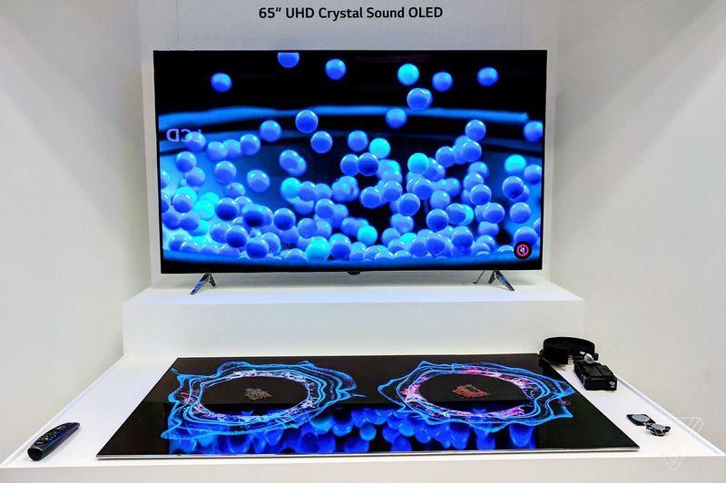 LG Display Crystal Sound OLED TV Lg display, Oled tv