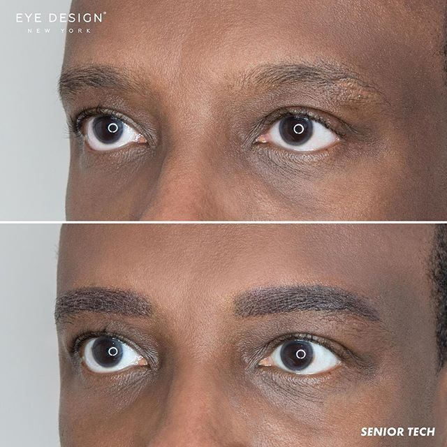 Men Enjoy The Benefits Of Our Semi Permanent Eyebrow Treatments Too