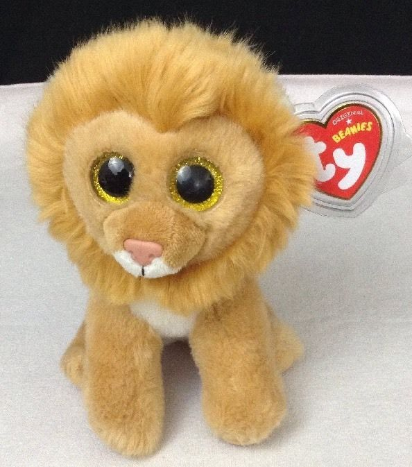 7da17e9e603 NEW w  Tags TY Beanie Babies Boo s Louie Lion 6