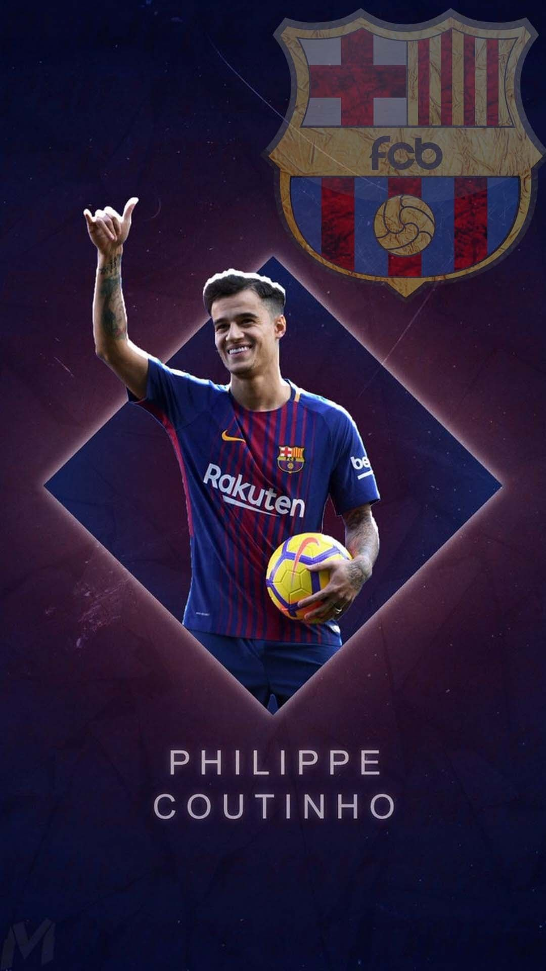 Phonewallpaper Coutinho Barcelona Wallpaper For Android Check More