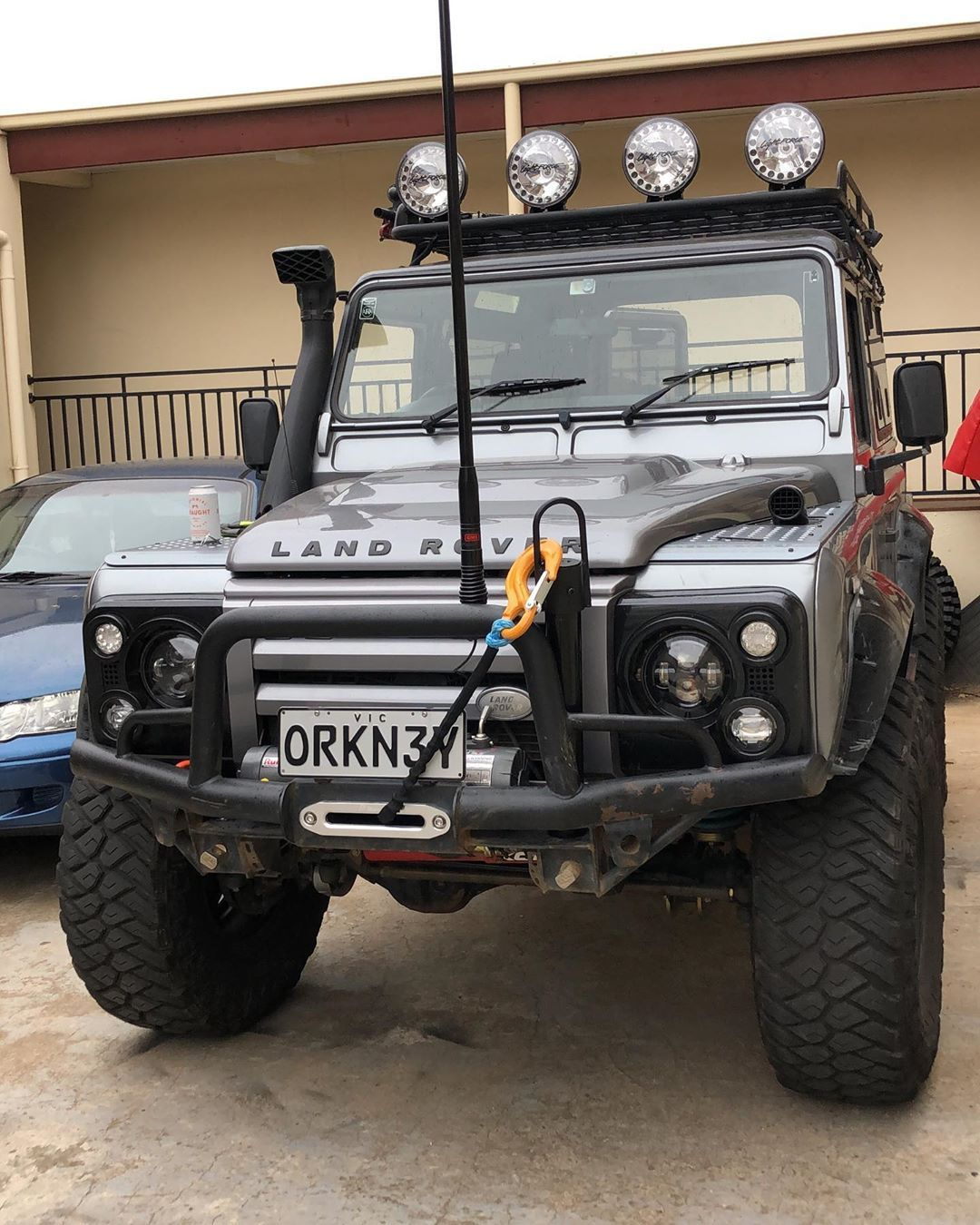 1 545 Likes 13 Comments Defender 90 Orkney Defender90 Orkney On Instagram Rightio Cleaned Up The Wiring 2x Land Rover Land Rover Defender Jeep Truck