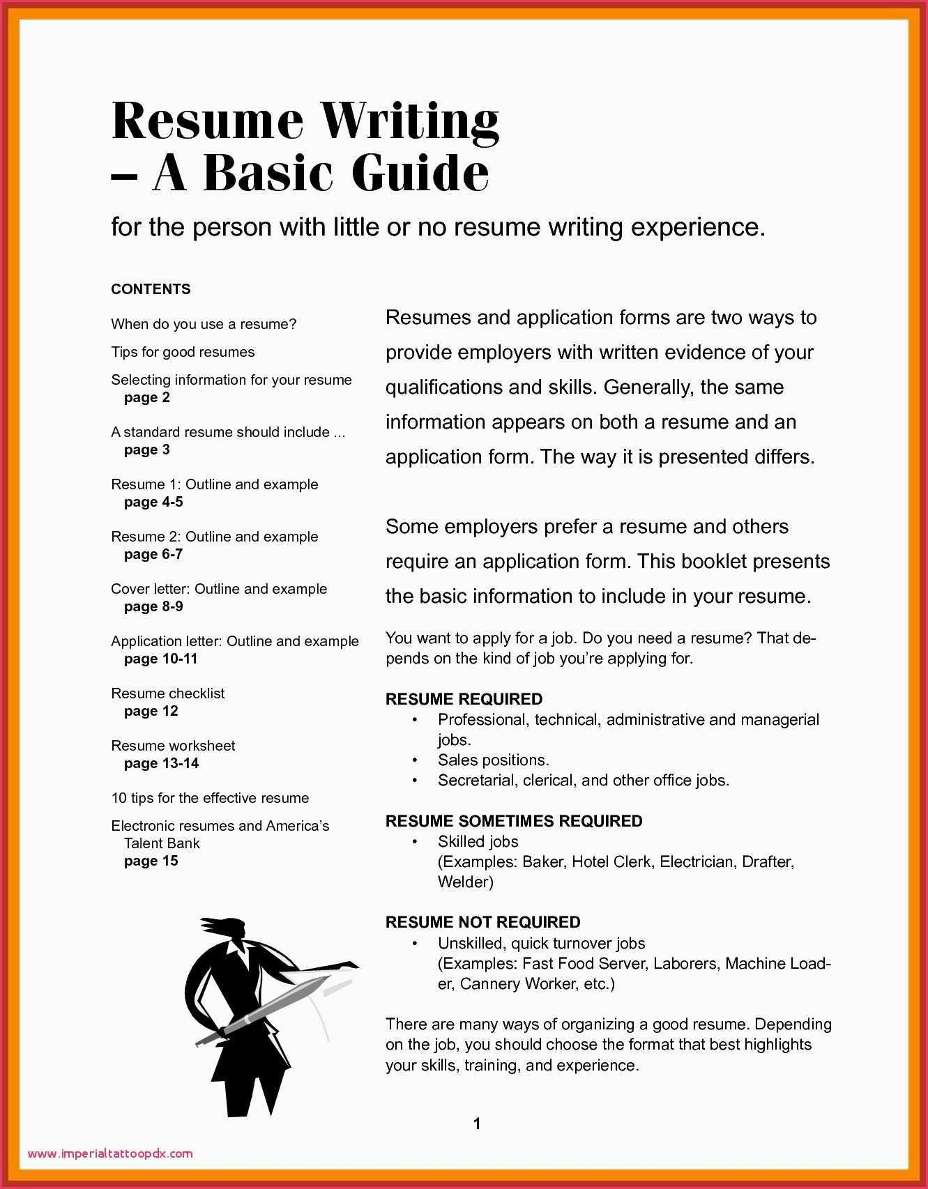 72 Cool Image Of Good And Bad Resume Examples Pdf Resume