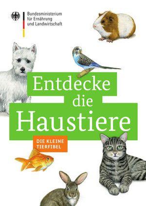 Cover der Broschüre Entdecke die Haustiere Die kleine