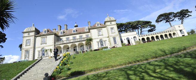 Fowey Hall Is A Luxury Child Friendly Hotel Round On The Coast Of It Has Beautiful Views Out Over Ocean And Plenty E To Relax In Sun With