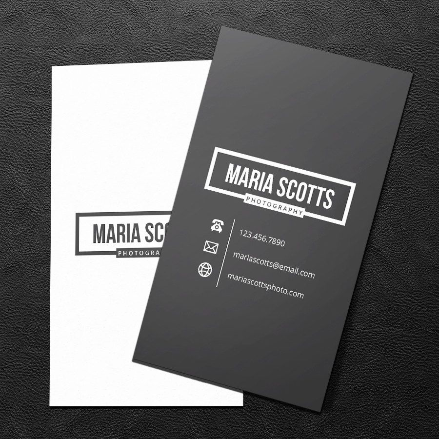Really neat premade business card design print ready printable really neat premade business card design print ready printable business card charcoal and white pdf jpeg 300 dpi 2500 usd from brandileadesigns reheart Images