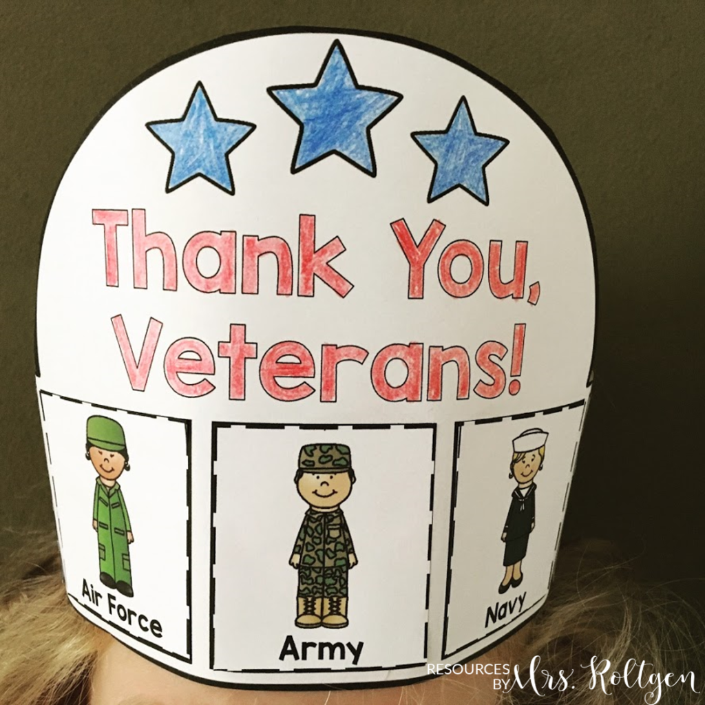 Veteran S Day Activities Freebie Included