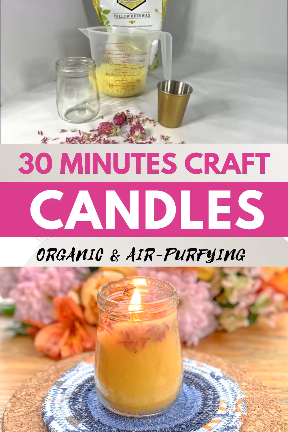 Photo of Do you want to make a natural beeswax candle? – Learn to create beautiful things