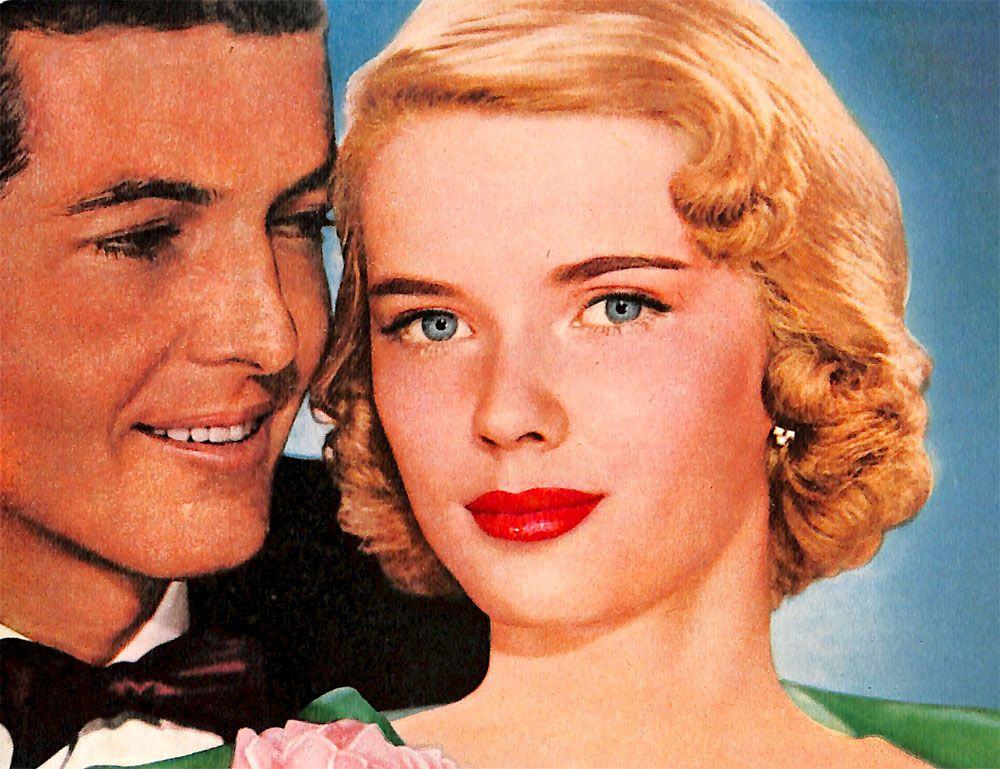 Palmolive Young Couple. 1952.  | Vintage Gaze