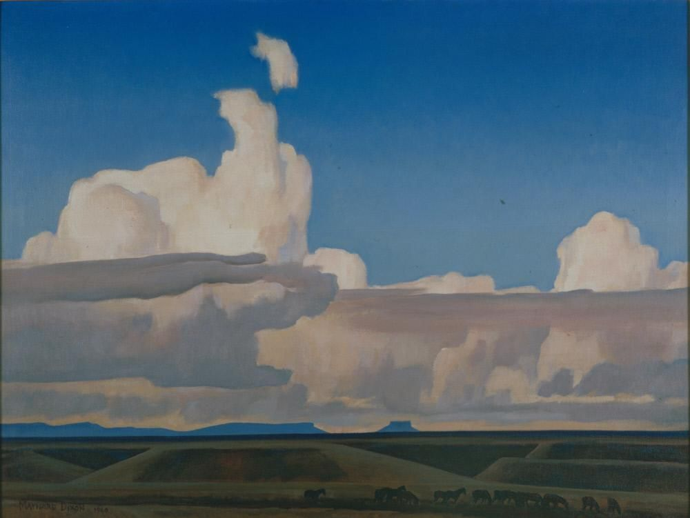 Cloud Drift and Prairie – Works – Stark Museum of Art, Staff Favorites – Collections – eMuseum