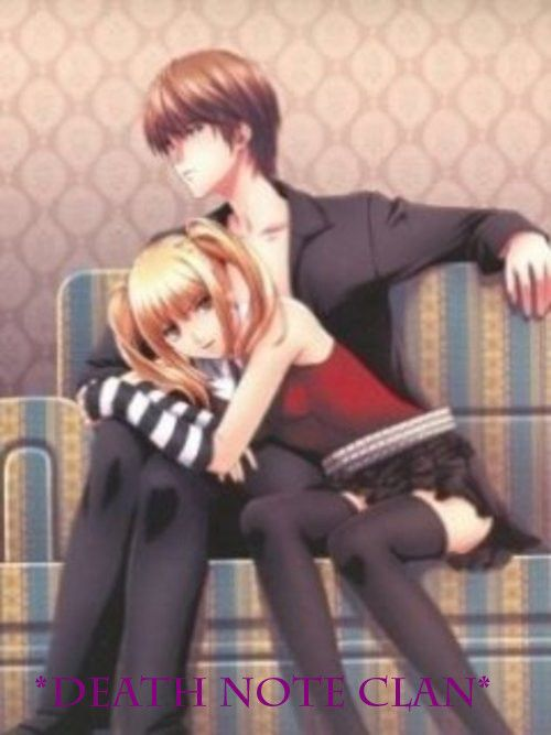 Light Yagami And Misa Amane Google Search Death Note