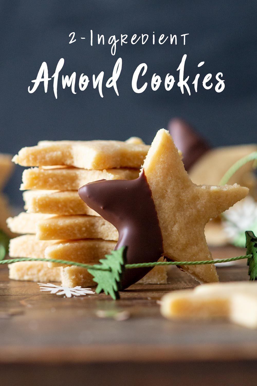 2 Ingredient Almond Cookies