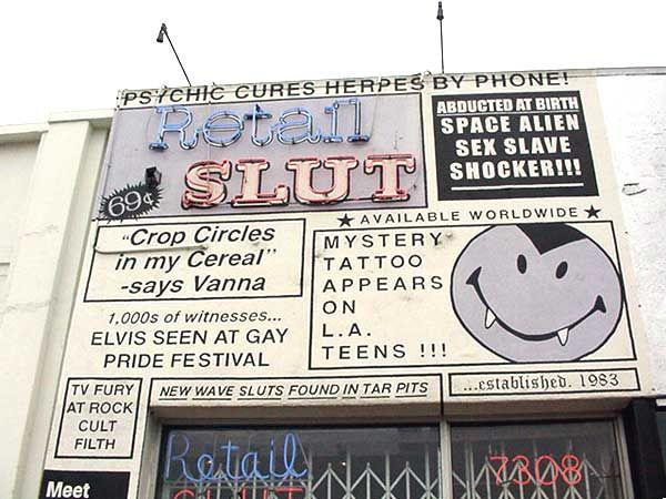 Retail slut - store location