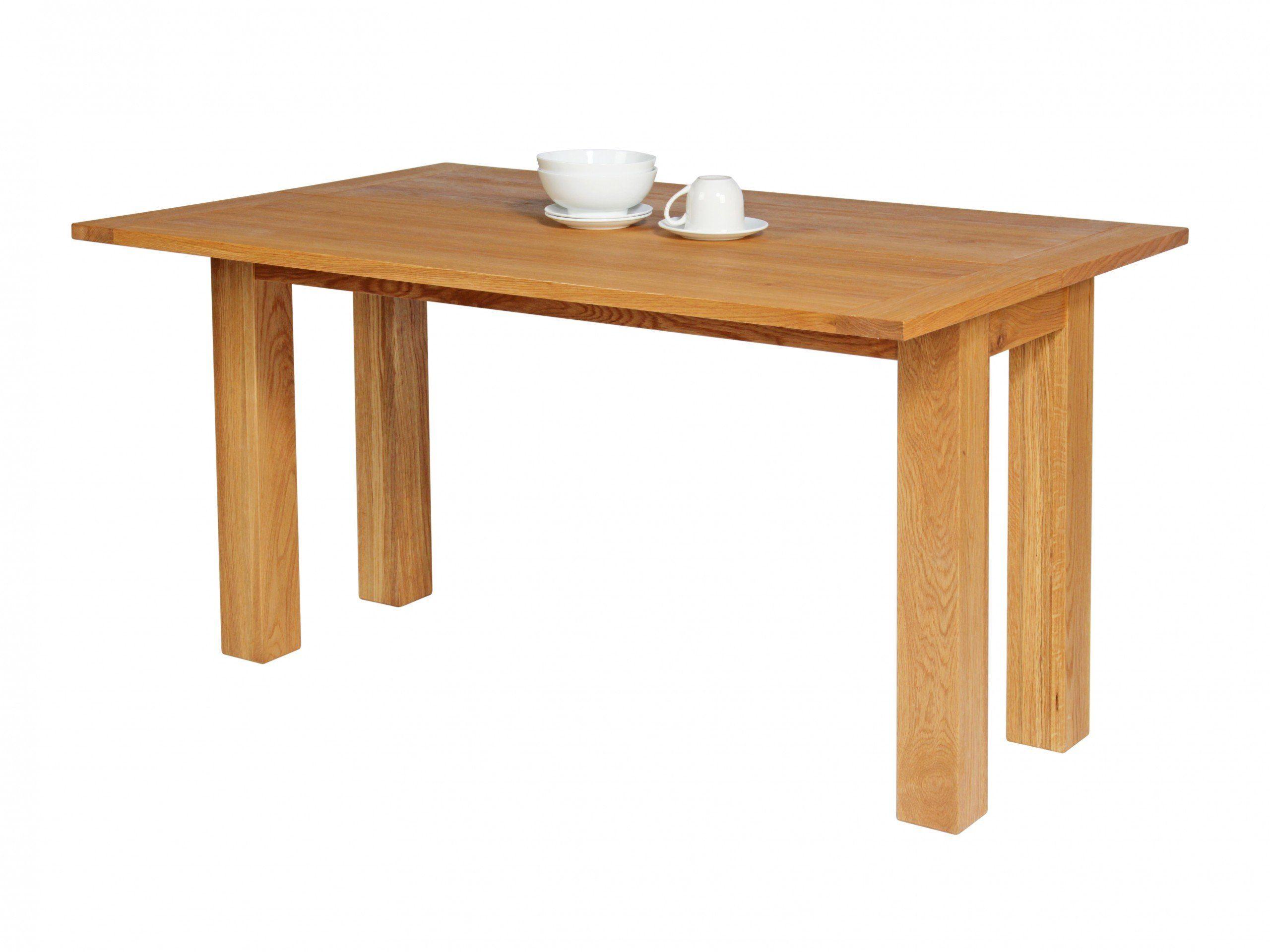 Lichfield Narrow Flip Top Oak Extending Table 9cm x 9cm ...