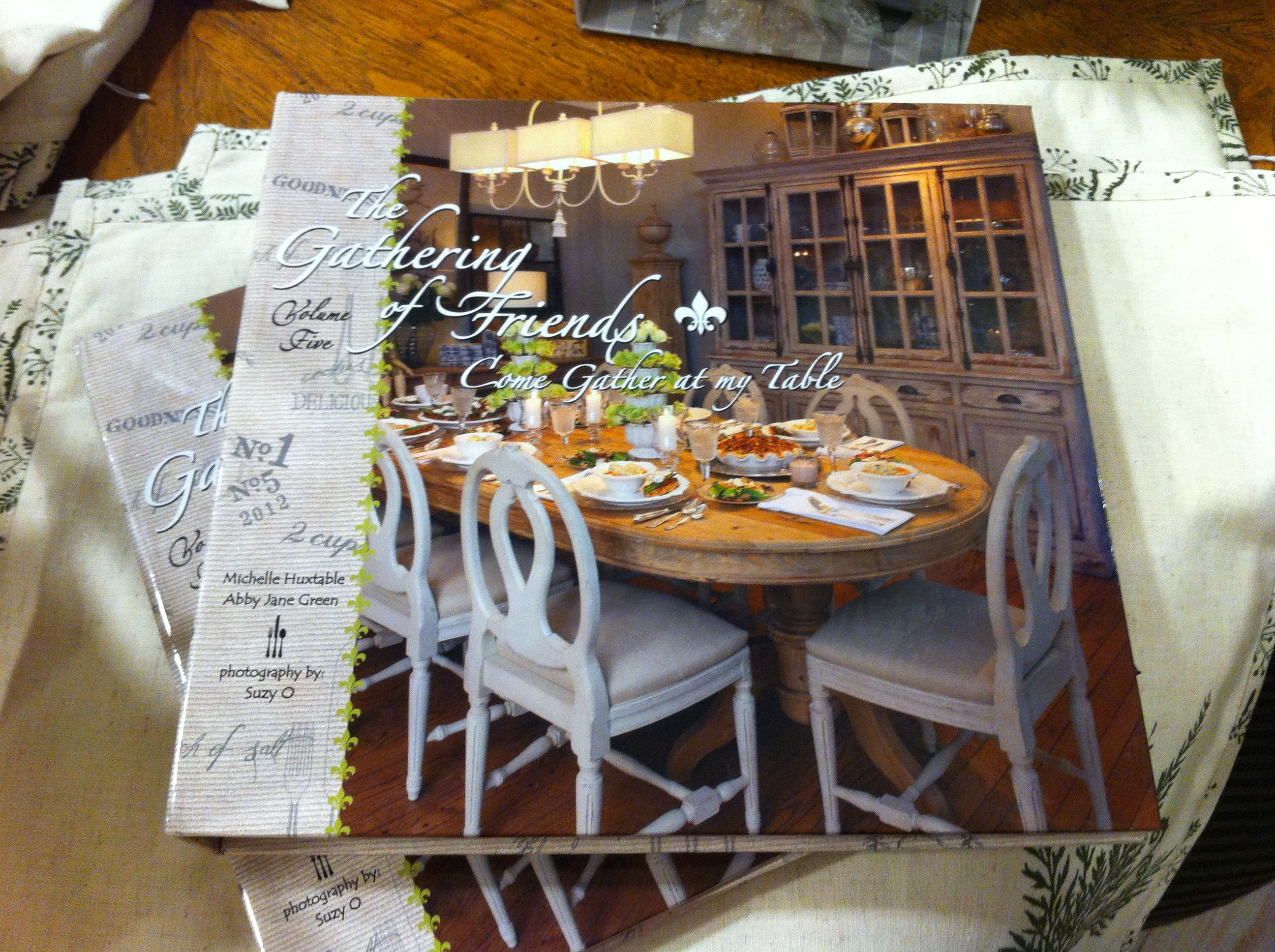 H O P E Carries All 6 Volumes Of The Gathering Of Friends Cookbooks Great Recipes Common Ingredients Shopping Lists T The Gathering Table Table Settings
