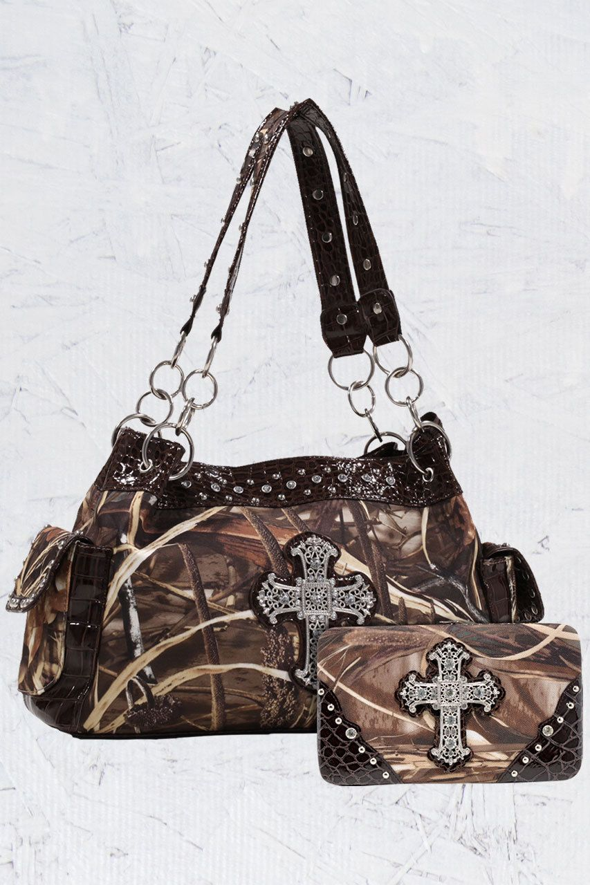 Ladies Cross RealTree® Camo Handbag Package