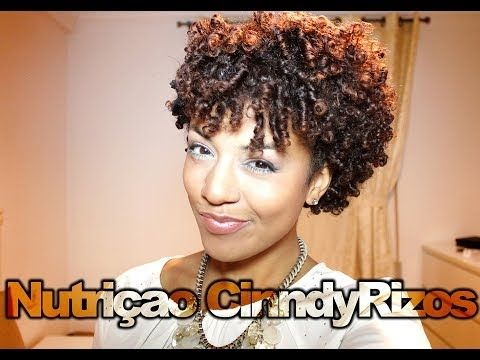 Tutorial Nutriçao Cabelos Crespo, Afro e Cacheado CinndyRizos - YouTube