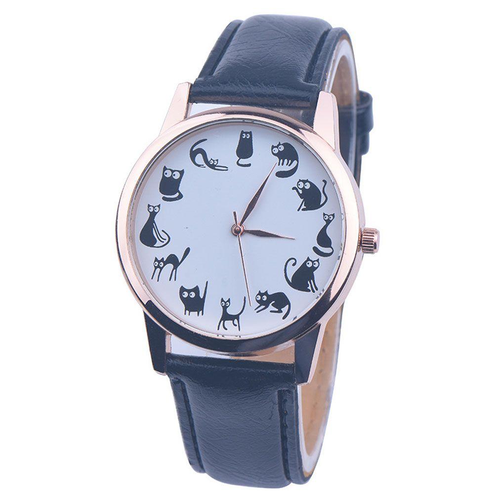 Women Watches Cat Watch Reloj Mujer Classic Quartz Watch Brand Casual Relogio Feminino Clock 8 Colors 2017 Hot Sale //Price: $8.95 & FREE Shipping //     #catstuff