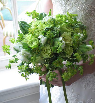 Bouquet Monday Bouquet Vibrant Bouquet Green Rose