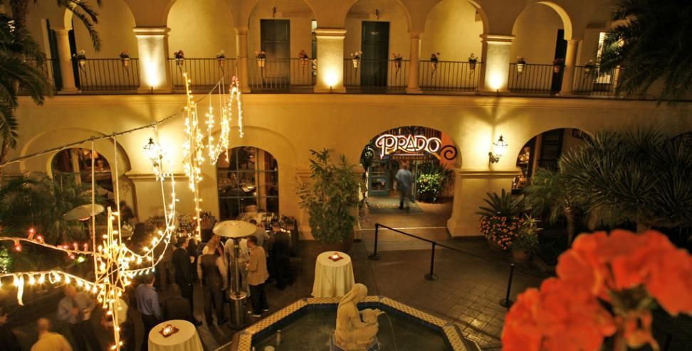 Prado Restaurant In Balboa Park San Go Best Place To Have A Gl Of Wine And An