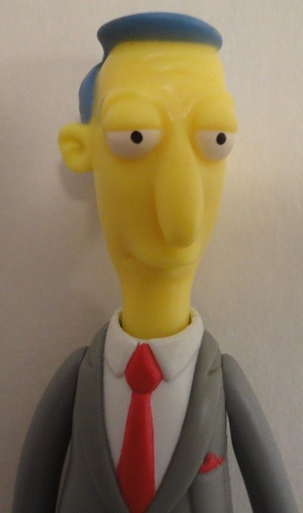 Playmates The Simpsons Wos World Of Springfield Blue Haired Lawyer