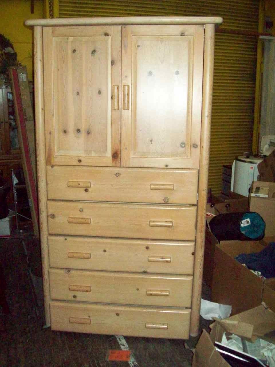 Lodge pole custom armoire Great American Furniture Co.18226 $2947