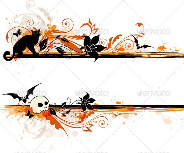 Halloween Banner | Halloween banner, Background banner and Design ...