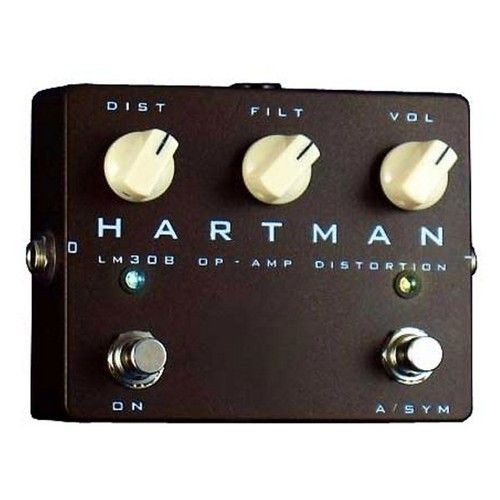 hartman electronics lm308 op amp distortion guitar effects pedal hartman pedals distortion. Black Bedroom Furniture Sets. Home Design Ideas