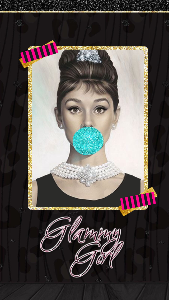 Wallpaper by me!! ENJOY Audrey hepburn wallpaper, Cute