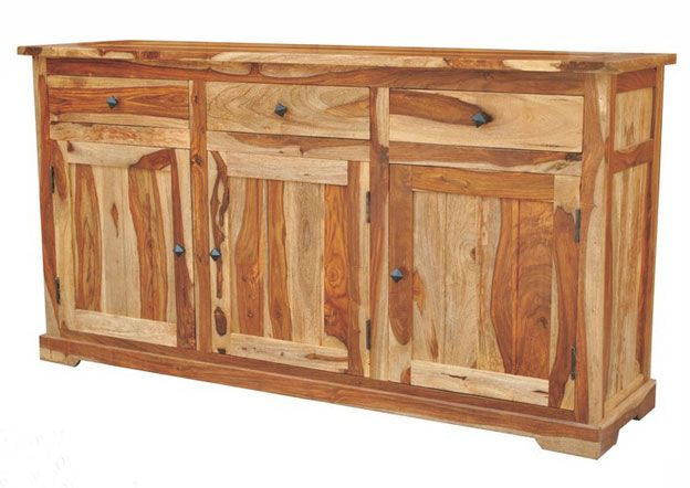 Shesham Majestic Home Furniture Rustic Sideboard Unique Sideboard Sheesham Wood