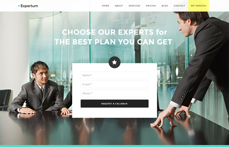 Expertum free bootstrap html business template graygrids expertum free bootstrap html business template graygrids accmission Gallery